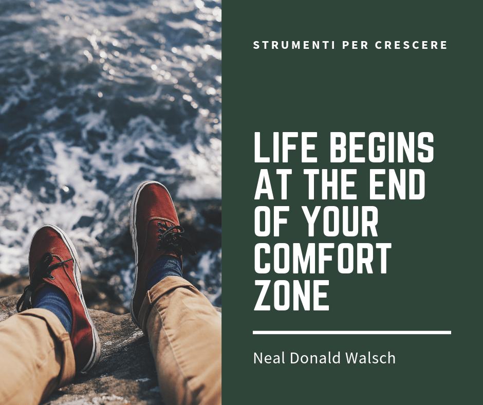 cambiare uscire dalla zona confort